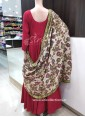 Designer Trendy Long Frock with Stitched Dupatta on One Side - 1