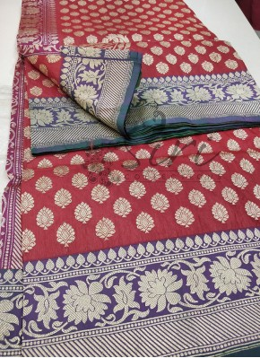 Authentic Pure Traditional Banarasi Handloom Katan Saree