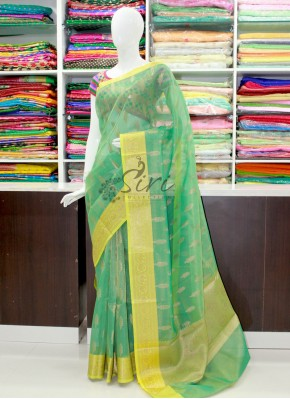 Beautiful Banarasi Kora Tissue Saree