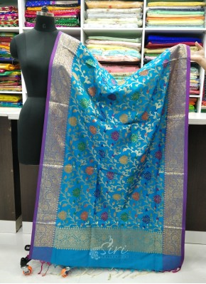 Beautiful Banarasi Silk Dupatta