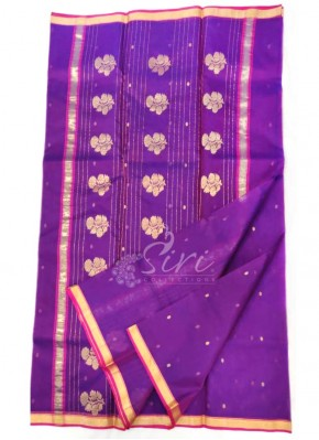 Beautiful Chanderi Silk Saree