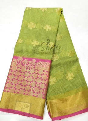 Beautiful Cotton Kota Doria Saree