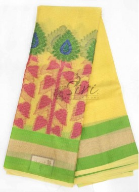 Beautiful Cotton Kota Doria Saree in Rich Borders