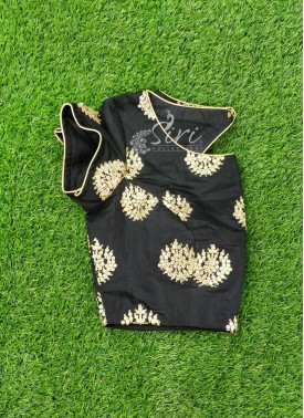 Beautiful Designer Blouse In Black and Gold