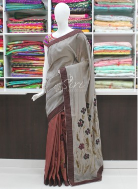 Beautiful Designer Patli Pallu Fancy Saree