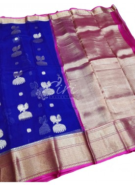 Beautiful Designer Pure Kanchi Organza Handloom Si
