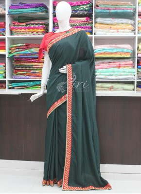 Beautiful Designer Saree with Fancy Borders