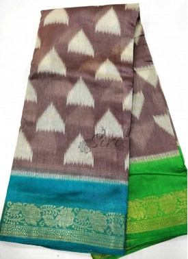 Beautiful Fancy Silk Saree