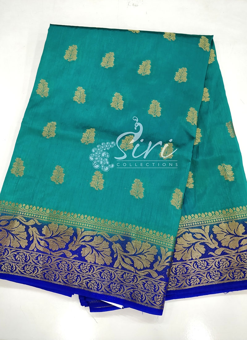 Beautiful Fancy Silk Saree in Traditional colours