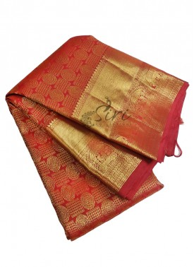 Beautiful Handloom Pure Kanchipuram Silk Pattu Saree