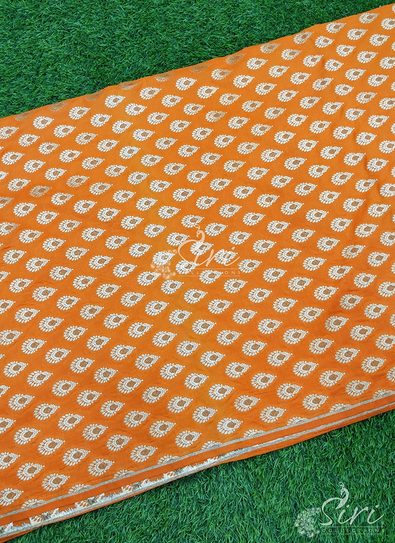 Beautiful Pure Banarasi Silk Fabric