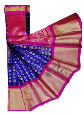 Beautiful Pure Kuppadam Pattu Saree