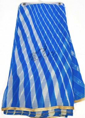 Bhandhini Style Simple Fancy Chiffon Saree