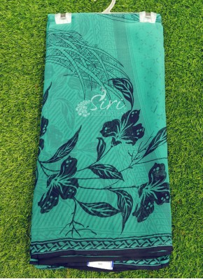 Casual Simple Printed Fancy Chiffon Saree
