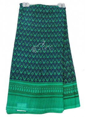 Casual Simple Printed Fancy Crepe Saree