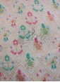 Dyeable White Fancy Banarasi Brocade Fabric in Elephant and Bird Design Per Meter - 1