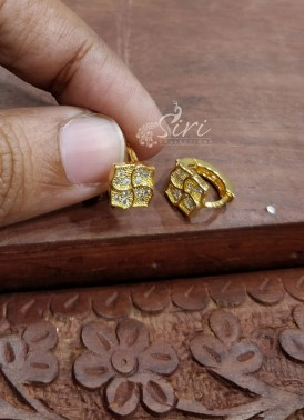 CZ Stone Earrings Baalis