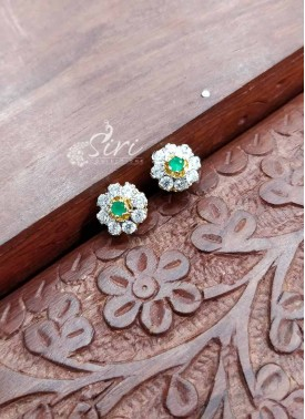CZ stone Earrings Studs
