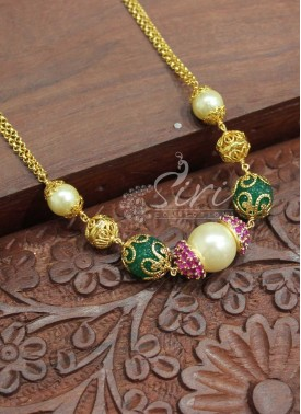 Designer Micro Polish Gold Plated Chain
