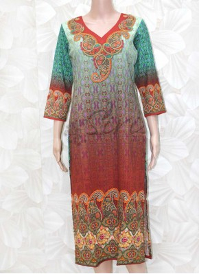 Digital Print Soft Cotton Kurti