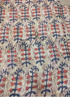 Digital Print Fancy Jute Linen Fabric per Meter