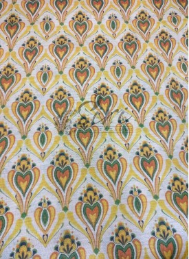 Digital Print Zarna Silk Fabric Per Meter