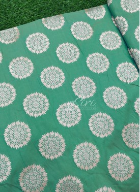 Double Shade Beautiful Fancy Banarasi Silk Fabric
