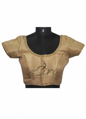Fancy Semi Brocade Blouse