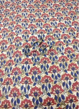 Floral Design Digital Print Chinon Crepe Fabric Per Meter