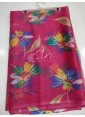 Beautiful Garden Vareli Nara Chiffon Saree in Flower Print - 1