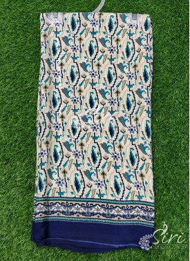 Garden Vareli Printed Markesh Crepe Saree