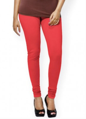 Go Colors Brand Bright Red Shade Leggings