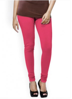 Go Colors Brand Coral Pink Shade Leggings