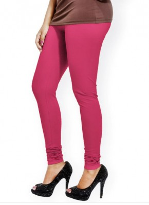 Go Colors Brand Young Fuchsia Pink Leggings