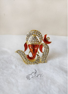 Gold Plated Lord Ganesha Idol