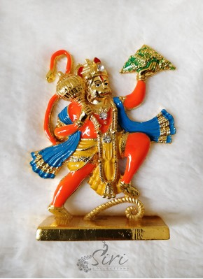 Gold Plated Lord Hanuman Idol
