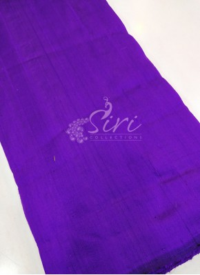 Handloom 100 Grams Pure Raw Silk Fabric Per Meter