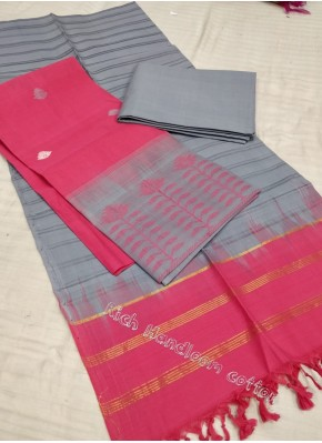 Handloom Cotton Top Dupatta and Bottom Set