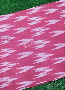 Ikkat Cotton Fabric
