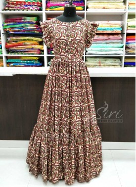 Lovely Digital Print Long Frock