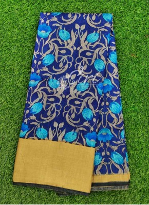 Lovely Fancy Printed Soft Silk Saree