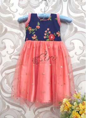 Lovely Kids Frock for One to Two Year Old