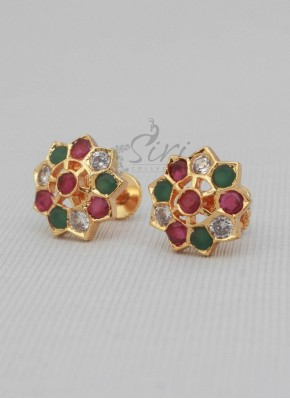 Multi Traditional Studs Earrings