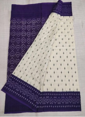 Pochampally Pure Ikat Handloom Cotton Saree