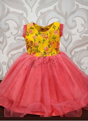 Pretty Designer Kids Frock for 1 yr old