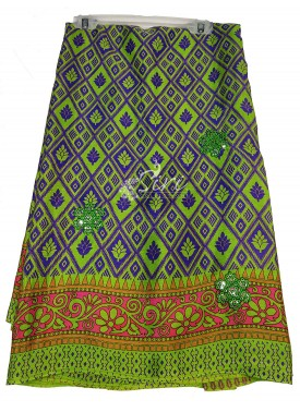 Printed Fancy Crepe Saree in Sequins Work Butis