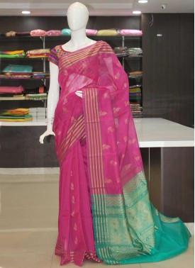 Pure Authentic Coimbatore Seico Saree