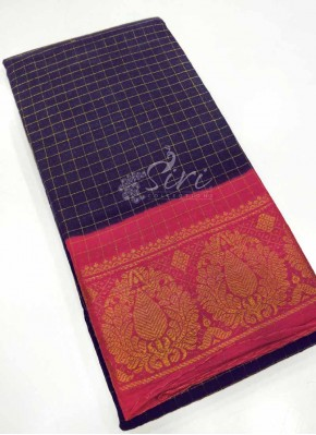 Pure Cotton Saree in Traditional Borders