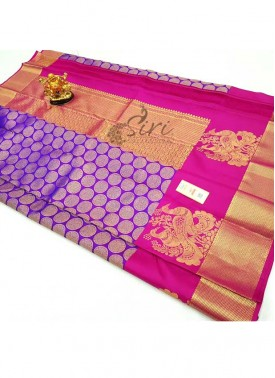 Pure Kanchipuram Silk Saree