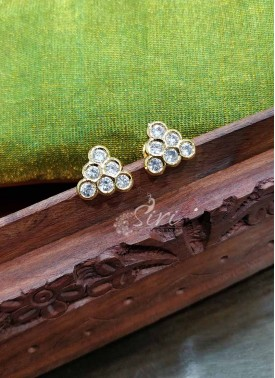 Seven Stone CZ Earrings